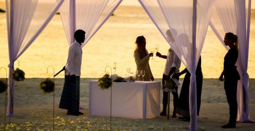 Talerækken til et bryllup